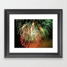 firelight Framed Art Print