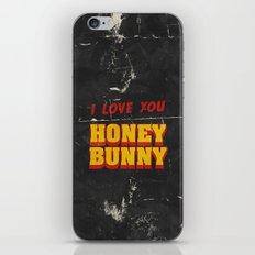 HONEY BUNNY iPhone & iPod Skin