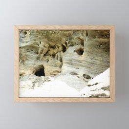 Rock Formation in Kentucky #1 Framed Mini Art Print