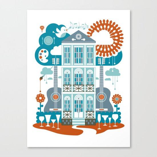 Festive Canvas Print