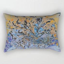 Psychedelic Sun Set. Rectangular Pillow