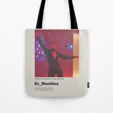 Ex Machina / Dance / Film Poster Tote Bag