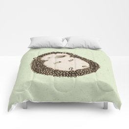 Plump Hedgehog Comforters