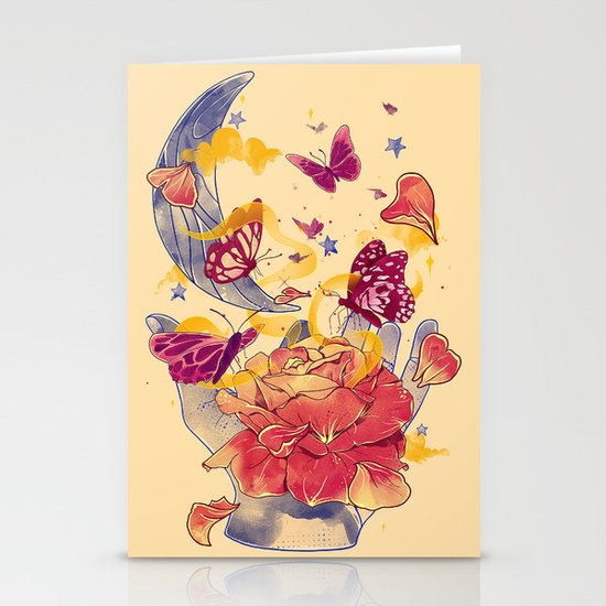 Papillon Ache Stationery Cards