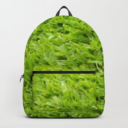 A million leaves of grass. Green is Everything Backpack