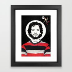 Flight of the Conchords: BRET McKENZIE IN SPACE! Framed Art Print