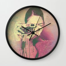 P Women Wall Clock