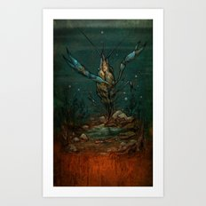 Crooked Creek #1 Art Print