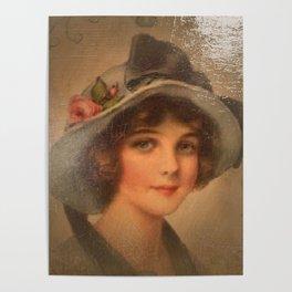 Vintage Lady 02 Poster