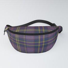 Purple Tartan Fanny Pack