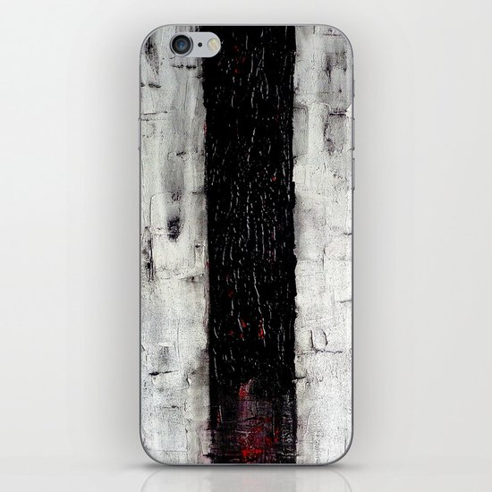 Dark Path - Black and white abstract iPhone & iPod Skin