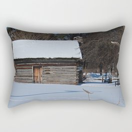Peter Navarre Cabin III Rectangular Pillow