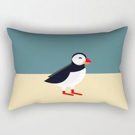 Atlantic Puffin Rectangular Pillow