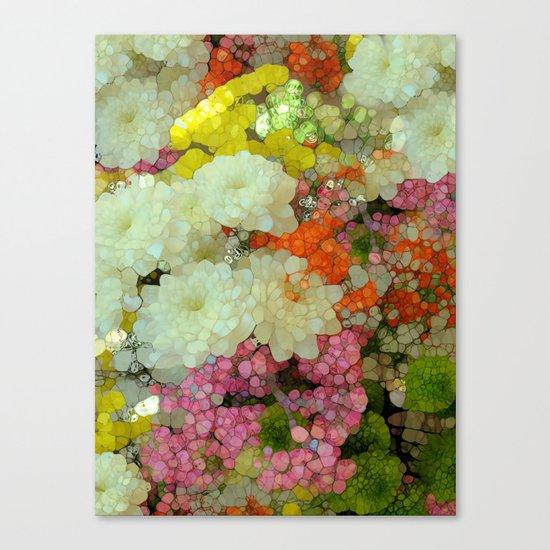 Joyous Spring Bouquet Canvas Print