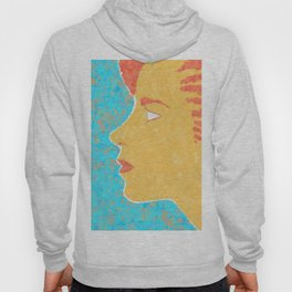 Girl with a lost look Hoody
