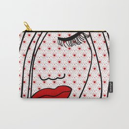 Portrait Of Love Carry-All Pouch