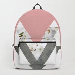 Blossoms Arrows Collage Backpack