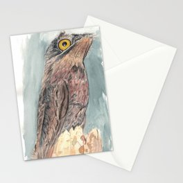 Watercolor Birds: Common Potoo Stationery Cards