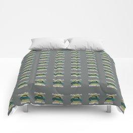 Vintage Wheels - Messerschmitt kr200 Comforters