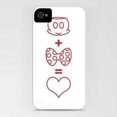 Mickey loves Minnie Slim Case iPhone (4, 4s)