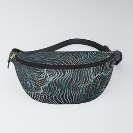 Lines of the Tide Fanny Pack