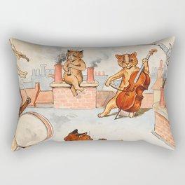 CATS ORCHESTRA - Louis Wain Cats Rectangular Pillow