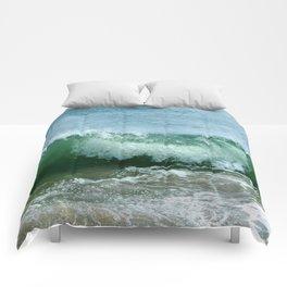 Crash of green Comforters