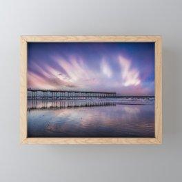 Rainbow Beach Framed Mini Art Print