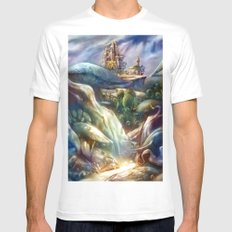 Elfindor MEDIUM Mens Fitted Tee White