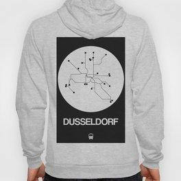 Dusseldorf White Subway Map Hoody