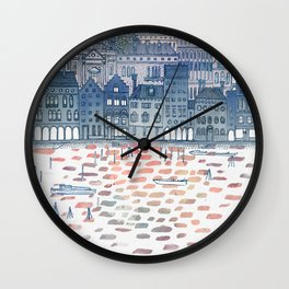 Serenissima - Venice in the Evening Wall Clock