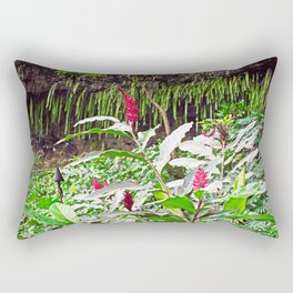 Ginger and the Fern Grotto Rectangular Pillow