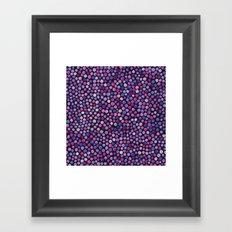 Magical Dots  Framed Art Print