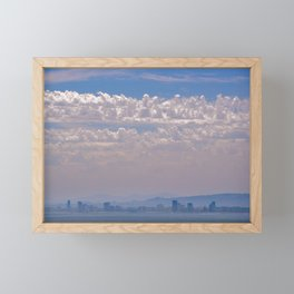Smoky Sky Framed Mini Art Print