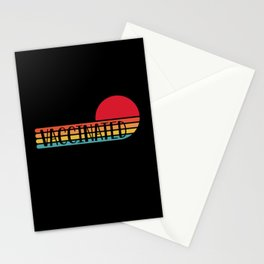 Vaccinated - Vaccines Are Saving Lives Stationery Cards