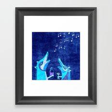 Fox fun Framed Art Print