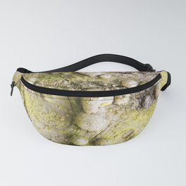 Tree Bark Close up with Burl Growth Fanny Pack