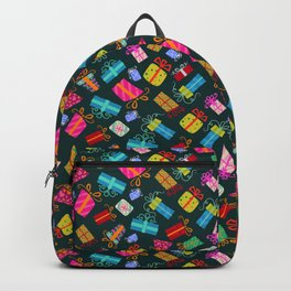 Christmas presents pattern Backpack