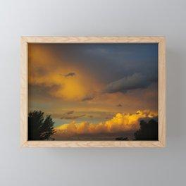 Laingsburg Sunset Framed Mini Art Print