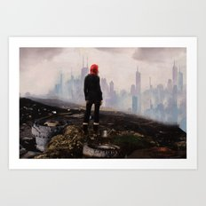 Urban Human Art Print