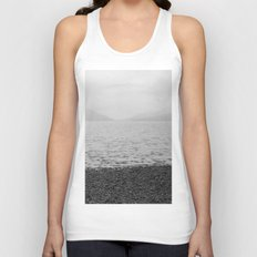 Mountains and the sea Unisex Tank Top