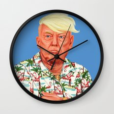 Hipstory -  Donald Trump Wall Clock