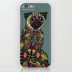 pug love juniper iPhone 6s Slim Case