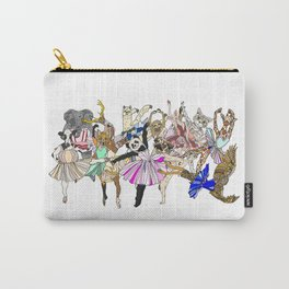 Animal Square Dance Carry-All Pouch