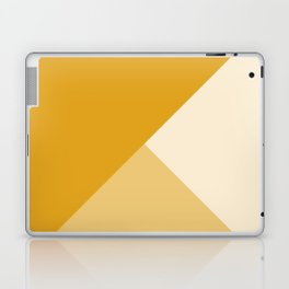 Mustard Tones Laptop & iPad Skin