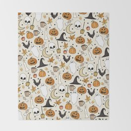 Happy Halloween Throw Blanket