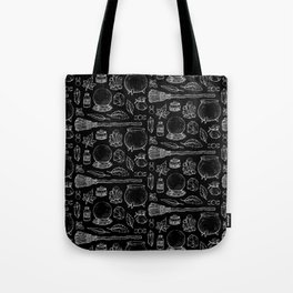 Witchcraft I [B&W] Tote Bag