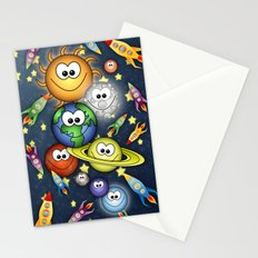 Solar Spaced Out. Stationery Cards