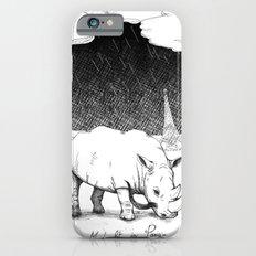 Rhino during Midnight in Paris iPhone 6s Slim Case