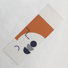 Abstract Shapes - Autumn Yoga Mat